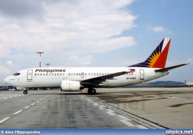 RP-C4010, Boeing 737-300, Philippine Airlines