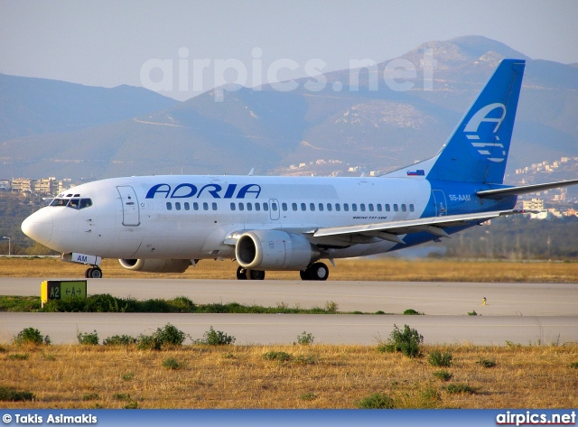 S5-AAM, Boeing 737-500, Adria Airways