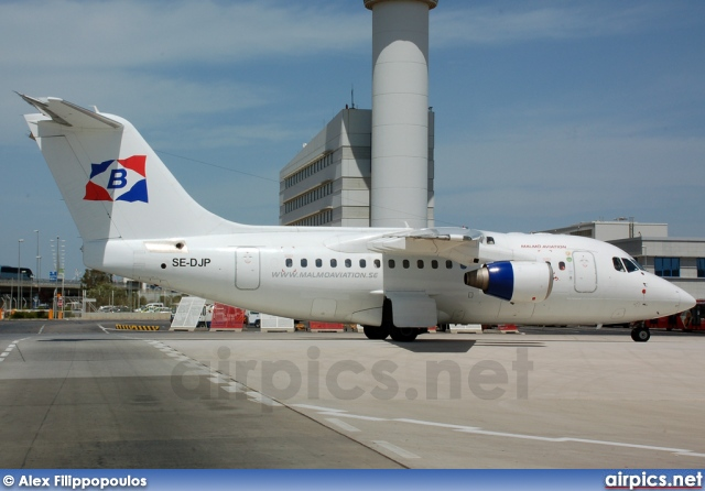 SE-DJP, British Aerospace Avro RJX, Malmo Aviation