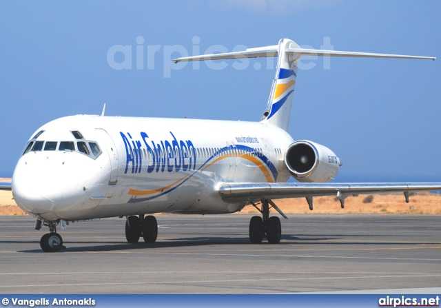 SE-DMT, McDonnell Douglas MD-81, Air Sweden