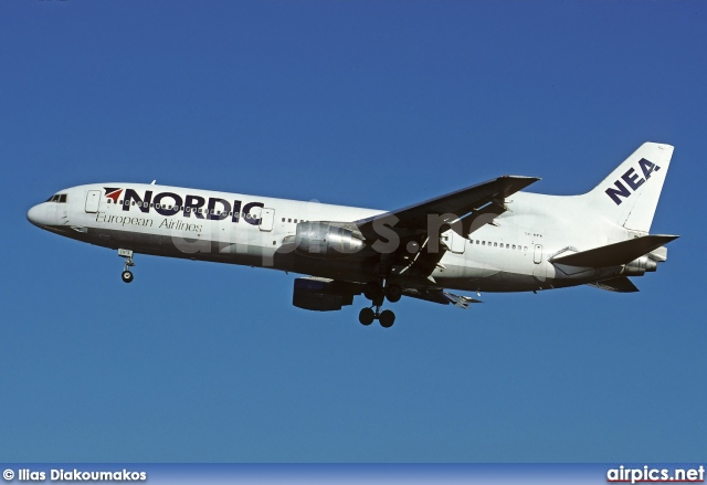 SE-DPX, Lockheed L-1011-50 Tristar, Nordic European Airlines