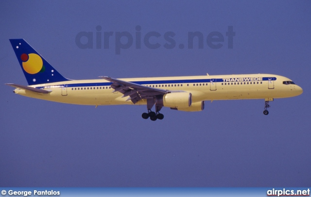 SE-DUL, Boeing 757-200, Transwede Airways