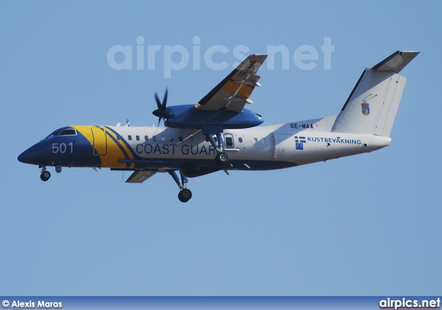SE-MAA, De Havilland Canada DHC-8-300 Q Dash 8, Swedish Coast Guard