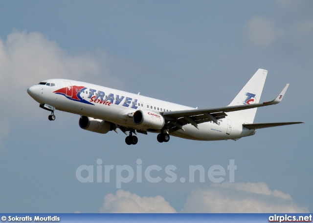 SE-RHR, Boeing 737-800, Travel Service (Czech Republic)