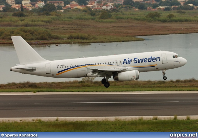 SE-RJN, Airbus A320-200, Air Sweden