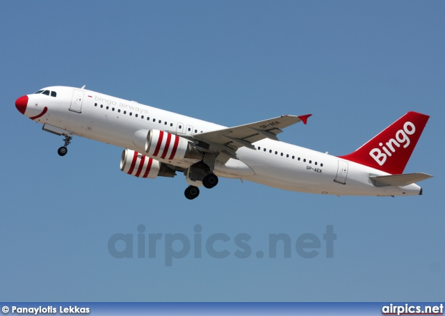 SP-AEK, Airbus A320-200, Bingo Airways