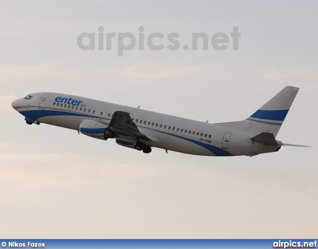 SP-ENB, Boeing 737-400, Enter Air