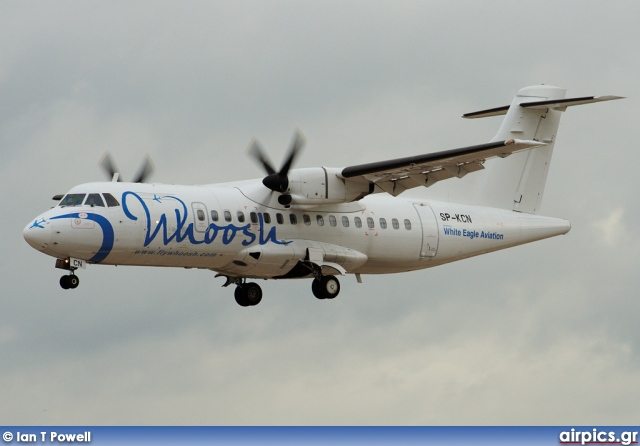 SP-KCN, ATR 42-320, White Eagle Aviation (WEA)