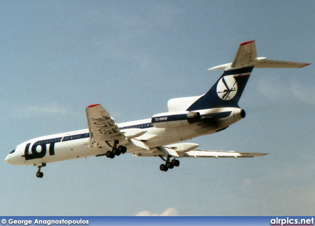 SP-LCK, Tupolev Tu-154M, LOT Polish Airlines