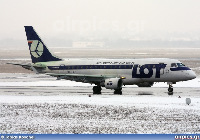 SP-LDE, Embraer ERJ 170-100LR, LOT Polish Airlines