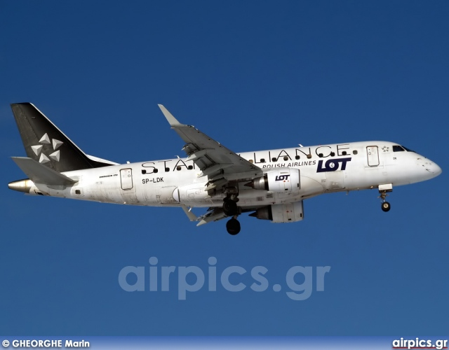 SP-LDK, Embraer ERJ 170-100SE, LOT Polish Airlines