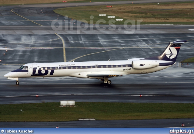 SP-LGF, Embraer ERJ-145MP, LOT Polish Airlines