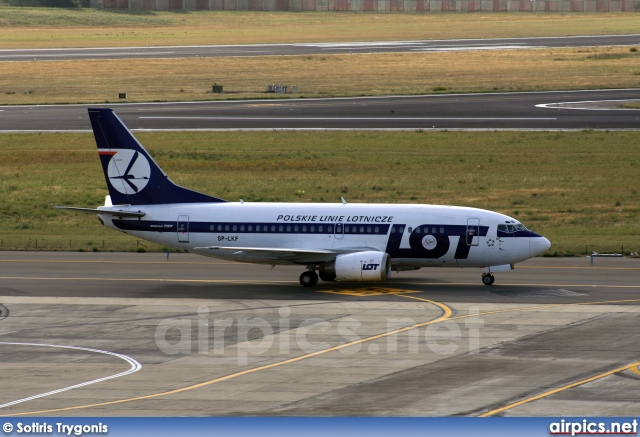 SP-LKF, Boeing 737-500, LOT Polish Airlines