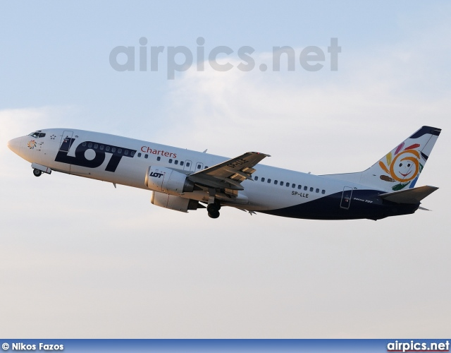 SP-LLE, Boeing 737-400, LOT Charters
