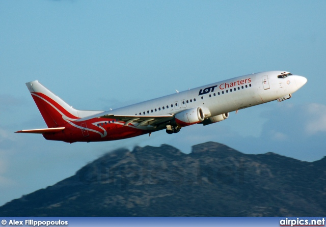 SP-LLG, Boeing 737-400, LOT Charters