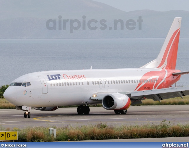 SP-LLL, Boeing 737-400, LOT Charters