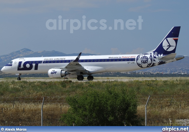 SP-LNC, Embraer ERJ 190-200LR (Embraer 195), LOT Polish Airlines