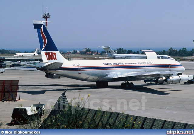 ST-AMF, Boeing 707-300C, Trans Arabian Air Transport - TAAT