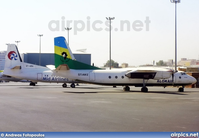 ST-AWZ, Antonov An-24RV, Alok Air