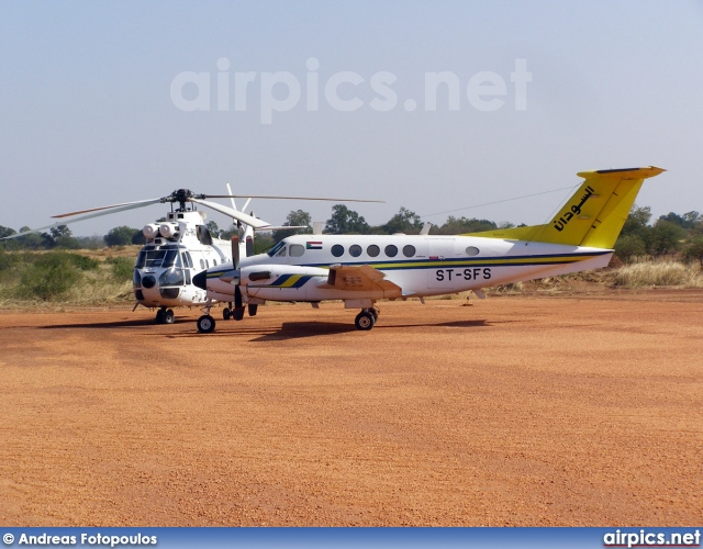 ST-SFS, Beechcraft 200 Super King Air, Sudan Airways