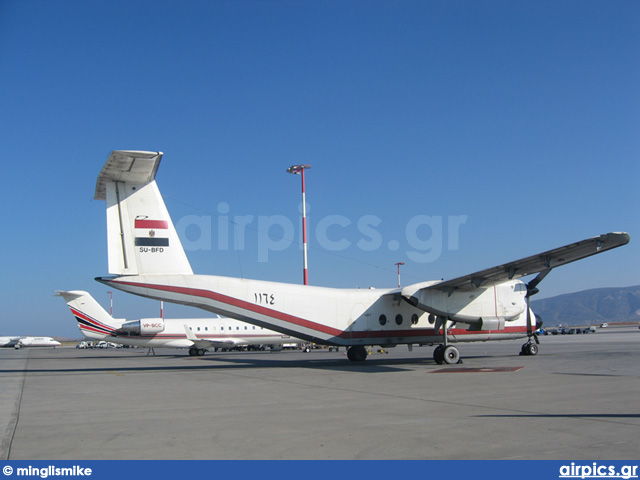 SU-BFD, De Havilland Canada DHC-5-D Buffalo, Egyptian Air Force