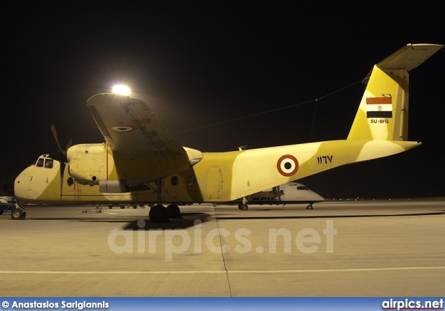 SU-BFG, De Havilland Canada DHC-5-D Buffalo, Egyptian Air Force