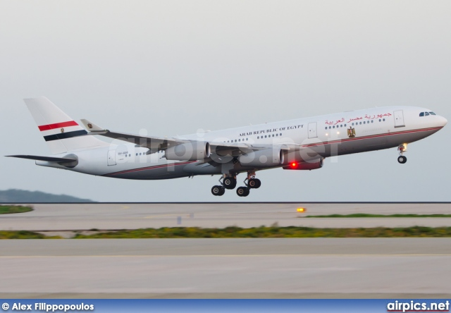SU-GGG, Airbus A340-200, Arab Republic of Egypt
