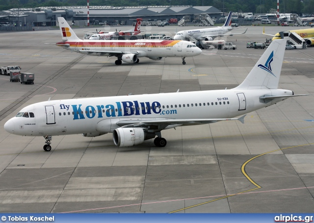 SU-KBA, Airbus A320-200, KoralBlue Airlines