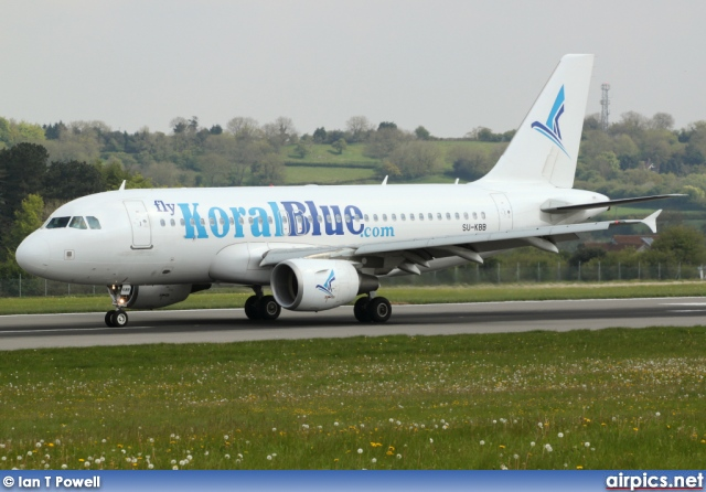 SU-KBB, Airbus A319-100, KoralBlue Airlines