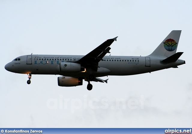 SU-LBG, Airbus A320-200, Lotus Air