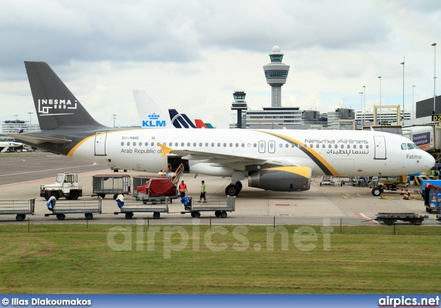 SU-NMB, Airbus A320-200, Nesma Airlines