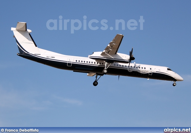 SU-SMH, De Havilland Canada DHC-8-400Q Dash 8, Smart Aviation