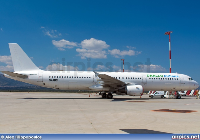 SX-ABC, Airbus A321-200, Daallo Airlines