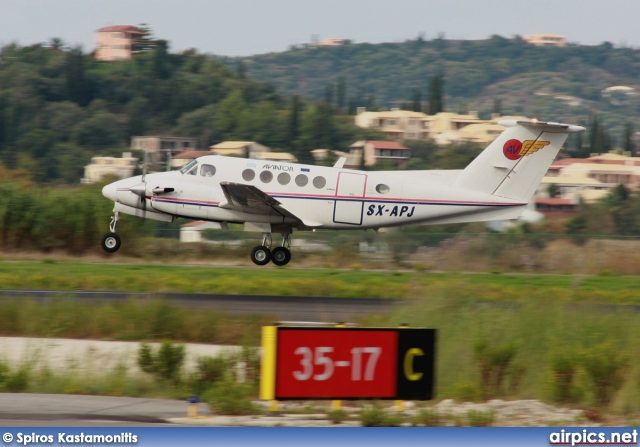 SX-APJ, Beechcraft 200 Super King Air, Aviator Airways