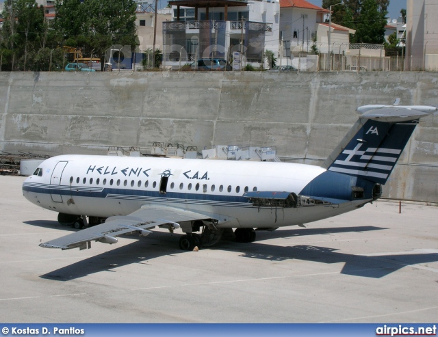 SX-BAR, BAC 1-11 200AU, Hellenic Civil Aviation Authority