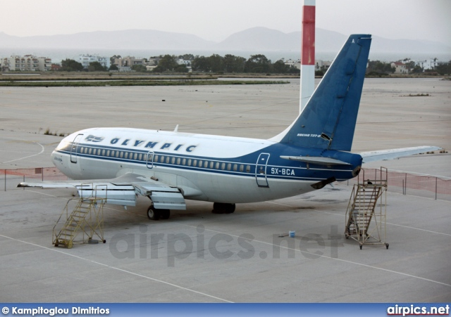 SX-BCA, Boeing 737-200, Untitled