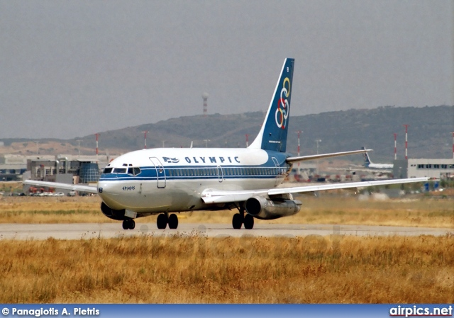 SX-BCB, Boeing 737-200Adv, Olympic Airways