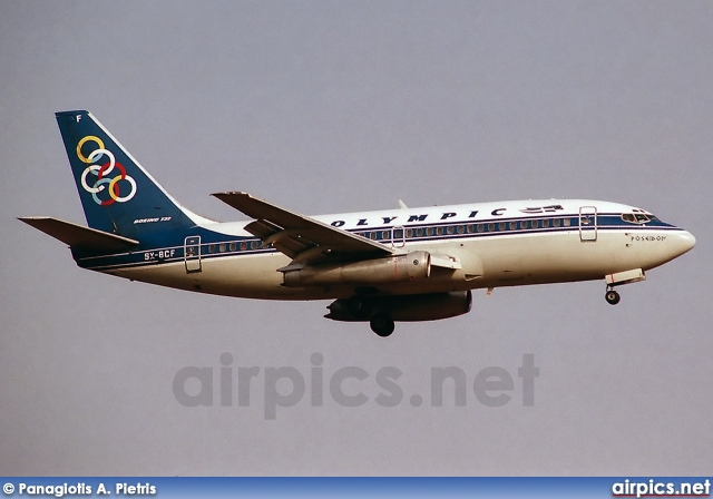 SX-BCF, Boeing 737-200Adv, Olympic Airways