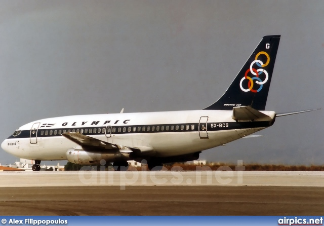 SX-BCG, Boeing 737-200Adv, Olympic Airways