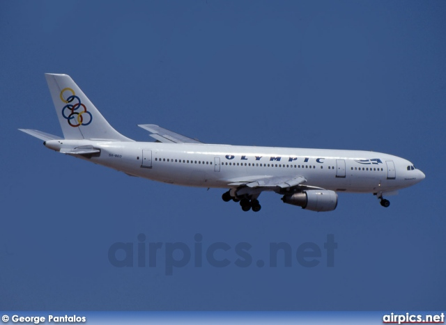 SX-BED, Airbus A300B4-200, Olympic Airways