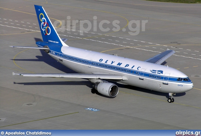SX-BEM, Airbus A300B4-600R, Olympic Airlines