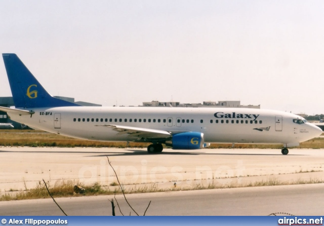 SX-BFA, Boeing 737-400, Galaxy Airways