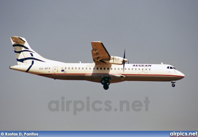 SX-BFK, ATR 72-200, Aegean Airlines