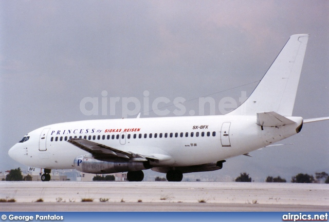 SX-BFX, Boeing 737-200Adv, Princess Airlines