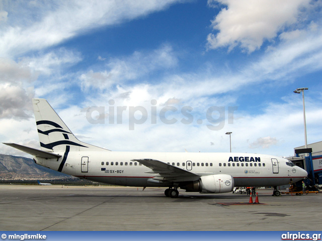 SX-BGY, Boeing 737-300, Aegean Airlines