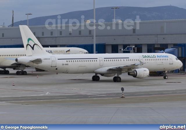 SX-BHS, Airbus A321-100, Daallo Airlines