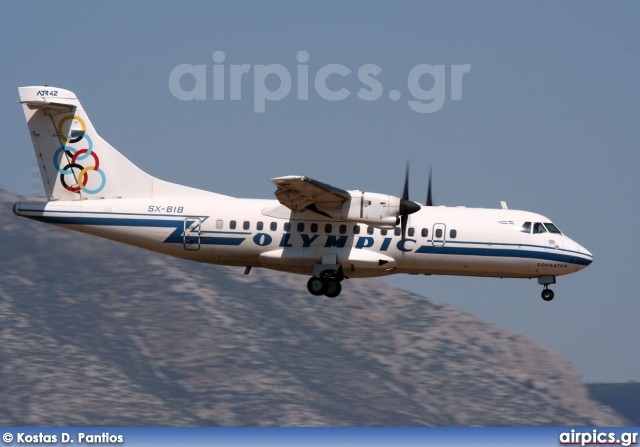 SX-BIB, ATR 42-320, Olympic Airlines