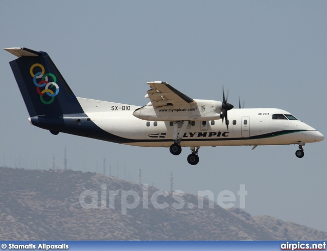 SX-BIO, De Havilland Canada DHC-8-100 Dash 8, Olympic Air
