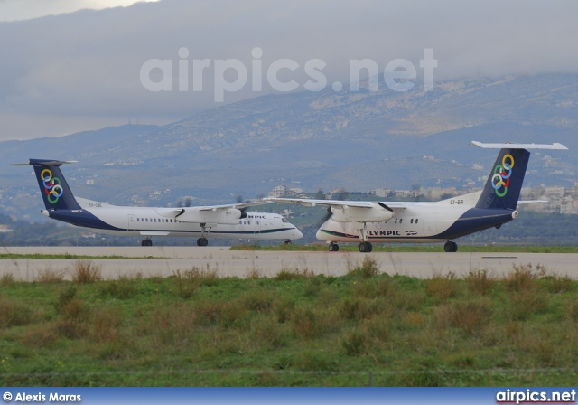 SX-BIR, De Havilland Canada DHC-8-100 Dash 8, Olympic Air