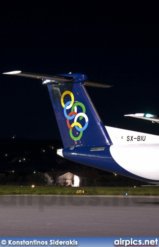 SX-BIU, De Havilland Canada DHC-8-400Q Dash 8, Olympic Air